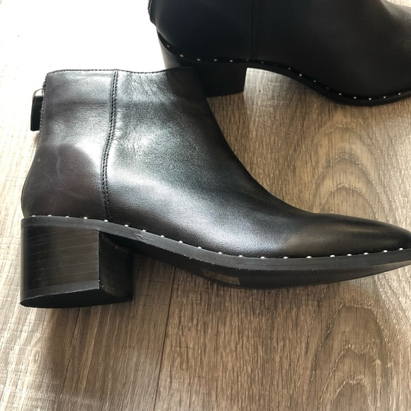 black suede studio Shoes | Studded